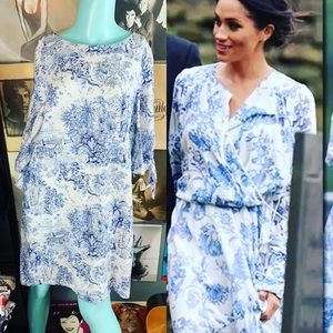 H&M Jungle Dress Pattern worn Meghan Markle 6